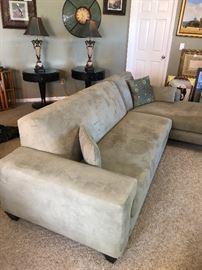 Light Green Scan Design Sofa