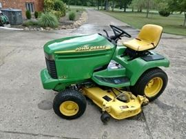 john deere 345 tractor in great condition - attachments available as well, separately priced
