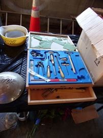 Child's vintage tool set