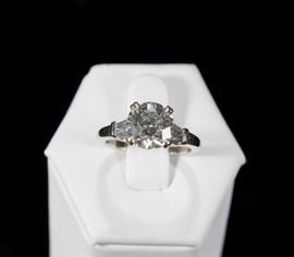 2.75 Ct Diamond Ring Solitaire