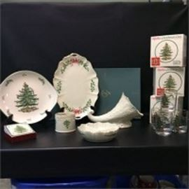 Lenox Spode Christmas Tree Tableware