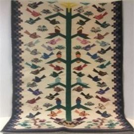 Tree of Life with Birds Rug