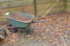 Wheelbarrow, heavy industrial. $23