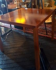 MID-CENTURY TABLE AND CHAIRS
