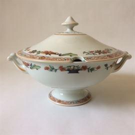 "Haviland "" a la corbeille"" Limoges porcelain tureen"