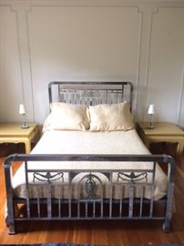 """1880s/1890s chrome bed. As seen in the """"Titanic"""" !!"""
