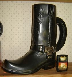 Harley Boot Beer mug