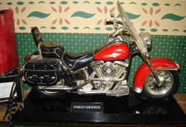 Harley Davidson telephone collectible