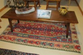 coffee table rug