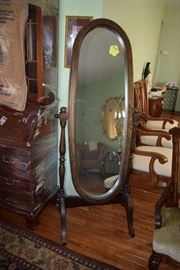 Vintage Full-Length Mirror