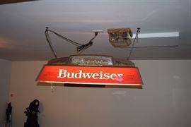 Budweiser Light Fixture