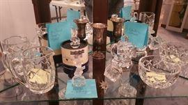 Crystal: Waterford, Stuben, Goebel