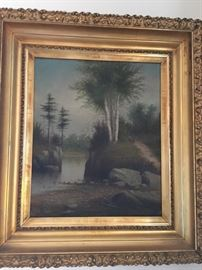19 x 16 by Listed Artist Hathaway