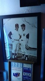 Mickey and Roger signed 8 x 10