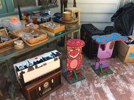 end tables ART cat dog