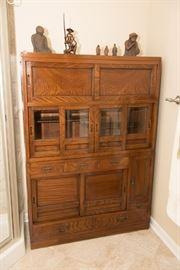 Antique Korean Kitchen  Cabinet