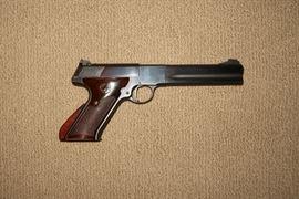 "Colt Woodsman 2cd Series Match Target Model, .22LR semi-auto pistol, 6"" bbl                                                                                                                   Inv. # 3"