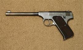 """Colt Automatic Pistol, Caliber .22 Target Model"", Pre-Woodsman                                                                                                         Inv. # 6"