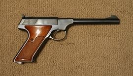 Colt Woodsman 3rd Series Target Model , .22LR semi-auto pistol                                                                                                 Inv. # 8