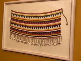 beaded tribal colar.