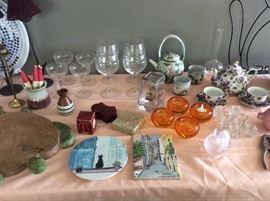 Fun glassware