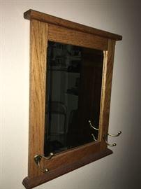 Beautiful Solid Oak Mirror!