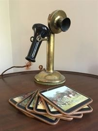 The Northern Electric Candlestick Phone