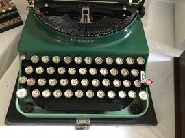 1950s Remington portable typewriter