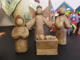 3 NATIVITY SETS-EACH ONE PRECIOUS