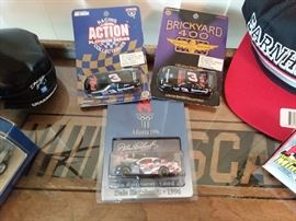 Large Collection of Nascar and other Automobile and Race Car Collectables