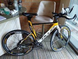 Blue Turbo EX Carbon Fiber Racing Bike
