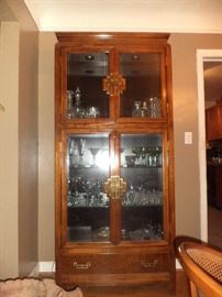 Century Furniture - Asian motif display cabinet