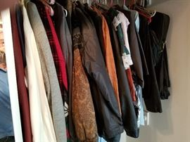 Nice selection of mens coats