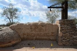Gated community of Provence in Cave Creek