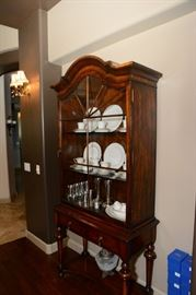 There is another full length glass display cabinet, not yet pictured.
