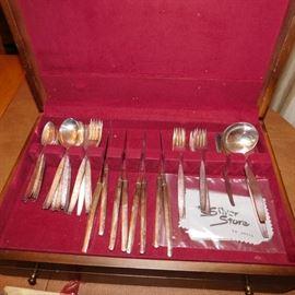 vintage flatware set