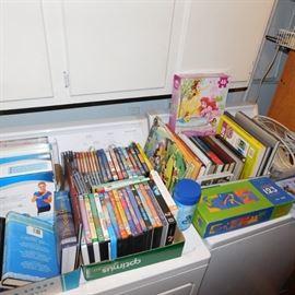 DVD and children's books