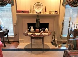 Vintage to Antique Furniture, Asian, Porcelain and Brass Items