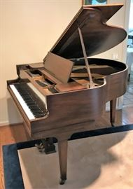 Vose Bros Circa 1920 Baby Grand Piano