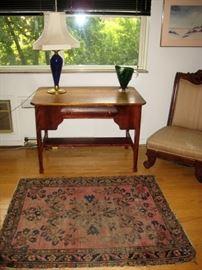 "Oriental rug 4.6 x 3.8 ~ 54"" x 44"""