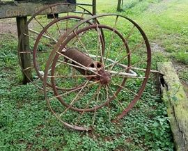 19th Century Fireman's Hose Reel