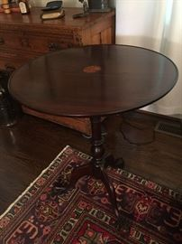 Exquisite inland tilt top table with Ball & Claw feet