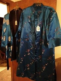 Authentic Silk Robe and Smoking Jacket