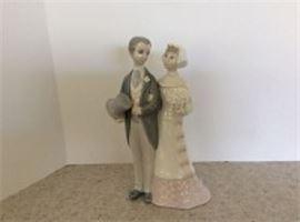 "Lladro ""Wedding"" Figurine"