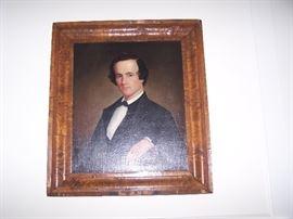 1840s  OIL PORTRAIT--UNSIGNED