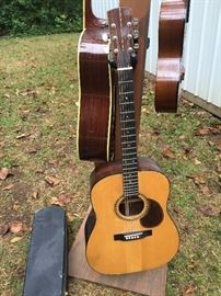 Hand made John Mark Giordano acoustic dreadnaught with Brazilian Rosewood back and sides.