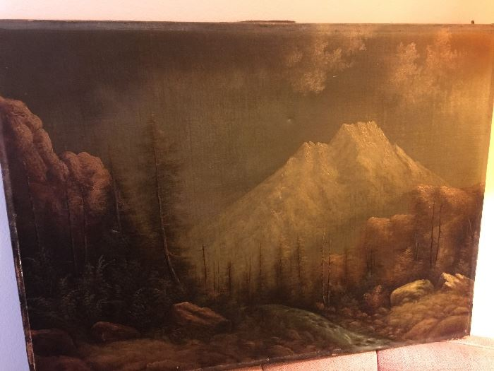 OLD original painting.