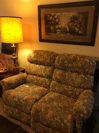 Double LayZBoy recliner.