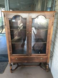 China cabinet very close to or over 100 yrs old
