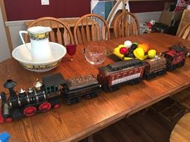 Jim Beam train decanter from the 70's unopened